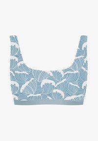 boochen - CAPARICA - Bikini top - blau - 4
