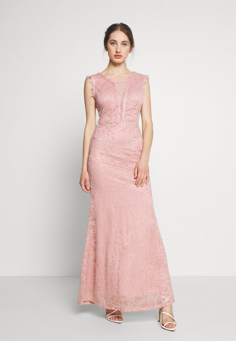 WAL G. - FULL MAXI DRESS - Galajurk - blush