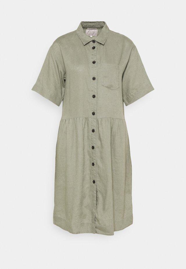 Shirt dress - vetiver