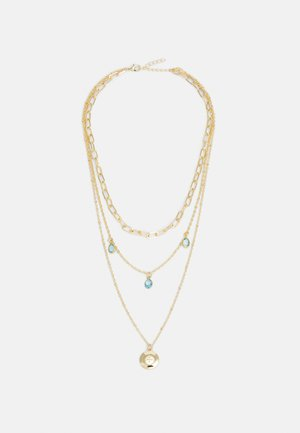 ONLSOFIA NECKLACE - Smykke - gold-coloured/soft blue