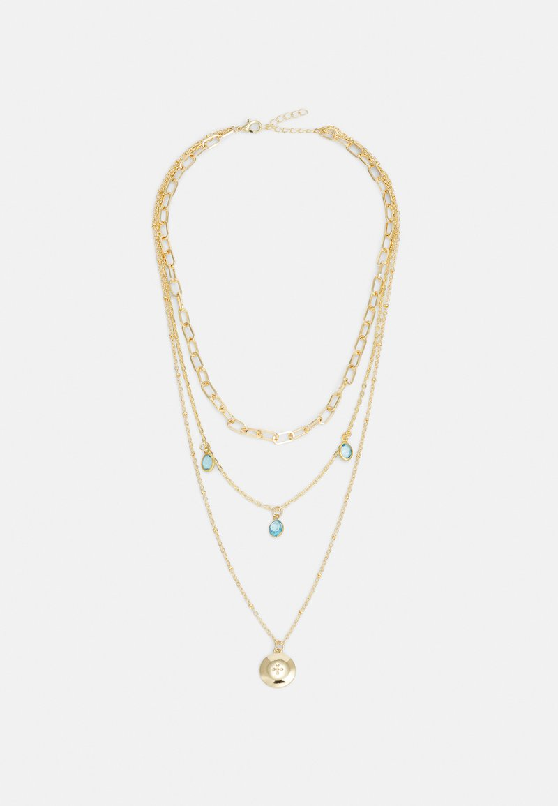 ONLY - ONLSOFIA NECKLACE - Necklace - gold-coloured/soft blue