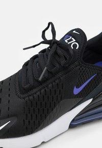Nike Sportswear - NIKE AIR MAX 270 ESS - Tenisice - black/persian violet/white - 5