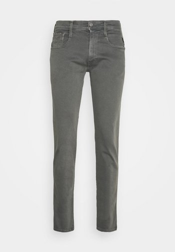 ANBASS - Slim fit jeans - grey mouse