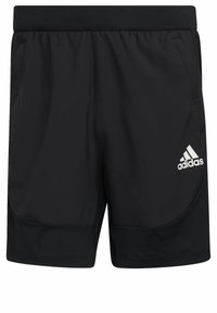 adidas Performance - Korte sportsbukser - black - 6