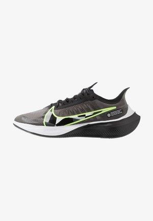 NIKE ZOOM GRAVITY - Neutral running shoes - black/dark smoke grey/ghost green/white/light smoke grey/sapphire