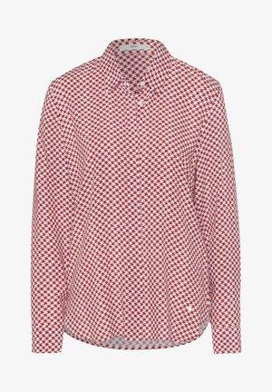 STYLE VICTORIA - Button-down blouse - cinnamon