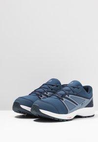 Salomon - SENSE CSWP - Trail running shoes - sargasso sea/navy blazer/flint - 3