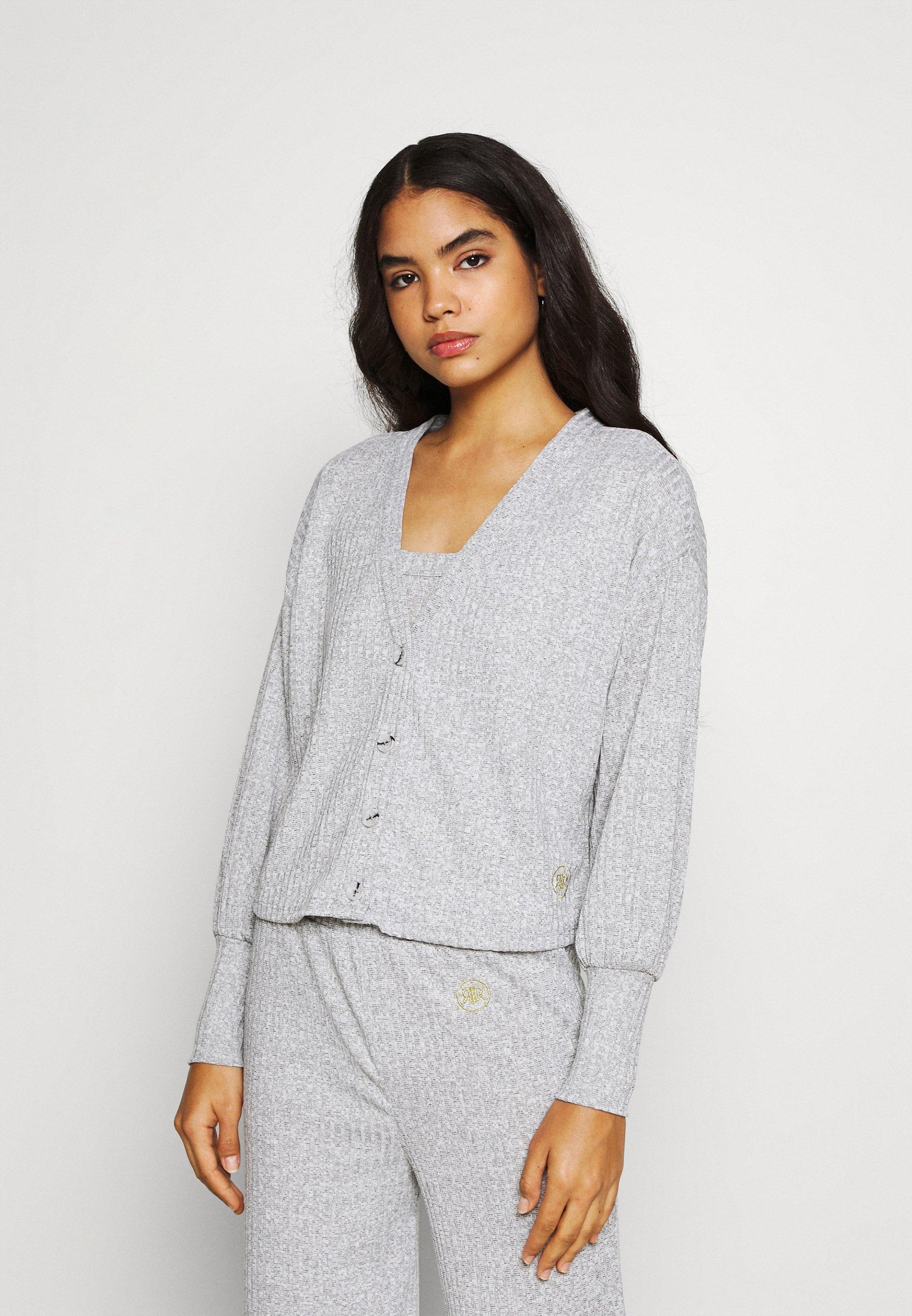 Femme LOUNGE CARDI + VEST SET - Pullover