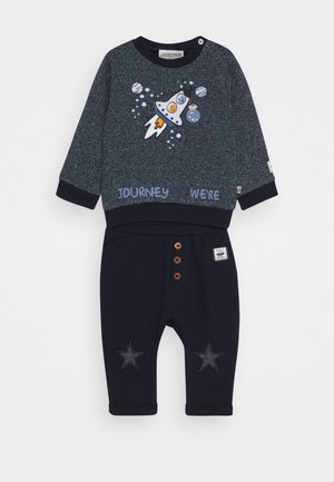 SPACE JOURNEY SET - Mikina - blue