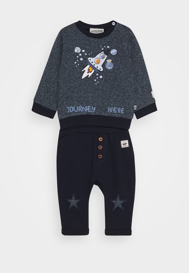 SPACE JOURNEY SET - Sweatshirt - blue
