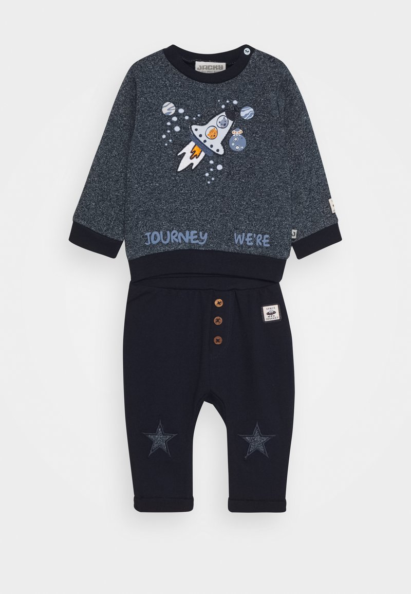 Jacky Baby - SPACE JOURNEY SET - Sweater - blue