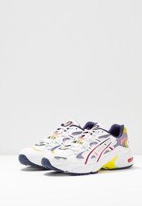 ASICS SportStyle - GEL KAYANO - Sneakers basse - white/purple matte - 6