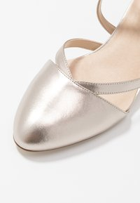 Anna Field - LEATHER - Classic heels - beige - 6