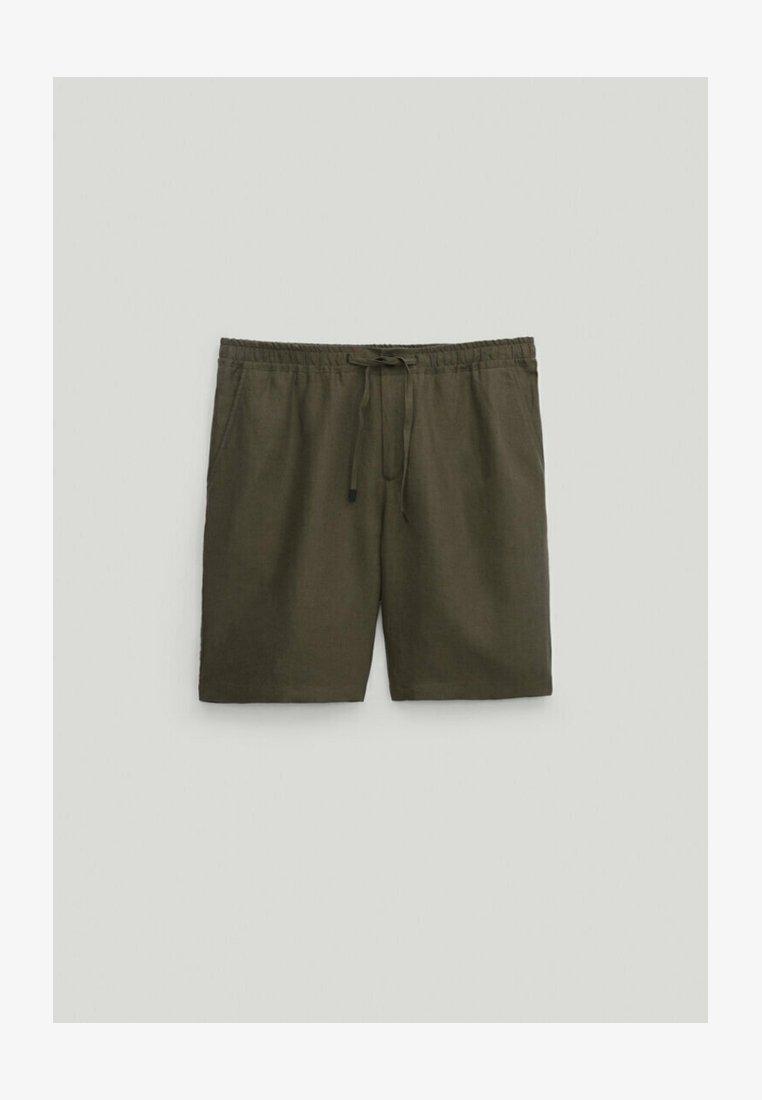 Massimo Dutti - Shorts - khaki