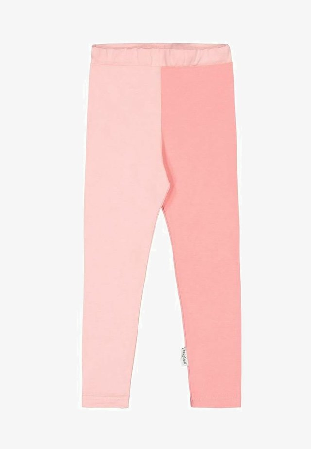 2-COLOR - Leggings - Trousers - romance pink/pastel coral