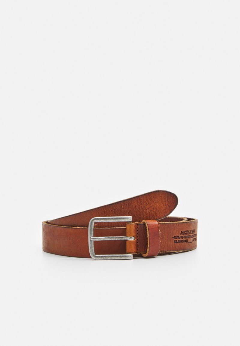 Jack & Jones - JACGRANT BELT - Belt - cognac