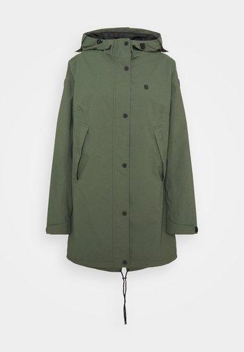 TULIPA JACKET - Waterproof jacket - thyme