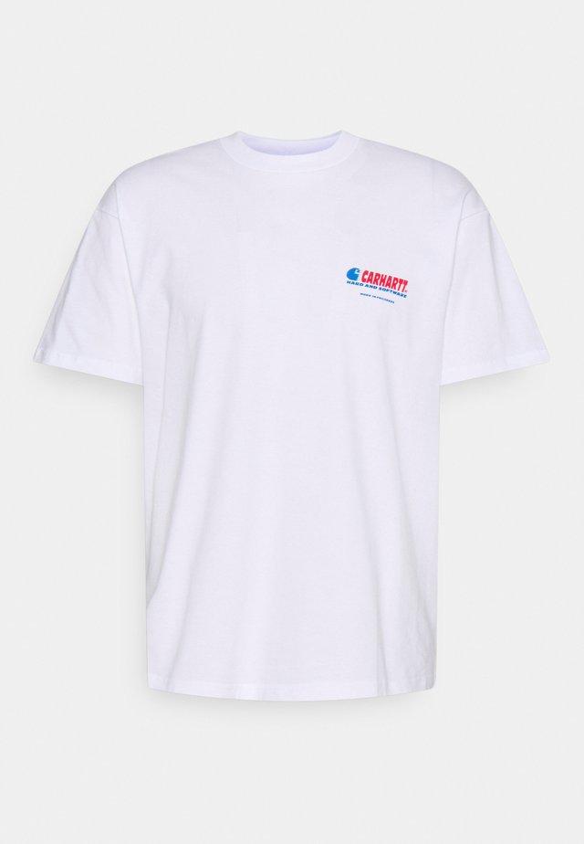 SOFTWARE - T-shirt print - white