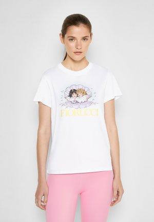 VENUS ANGELS - T-shirt imprimé - white
