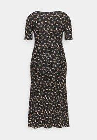 Anna Field - Žerzejové šaty - black/multicolor - 6