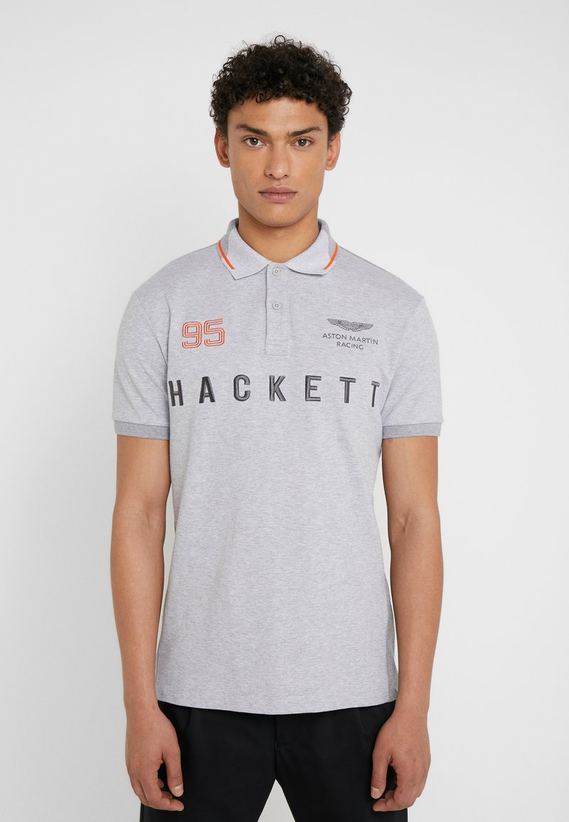 Hackett Aston Martin Racing - AMR MULTI SS - Polo - grey marl