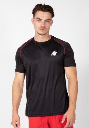 PERFORMANCE - T-shirt print - black