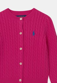 Polo Ralph Lauren - MINI CABLE - Cardigan - accent pink - 2