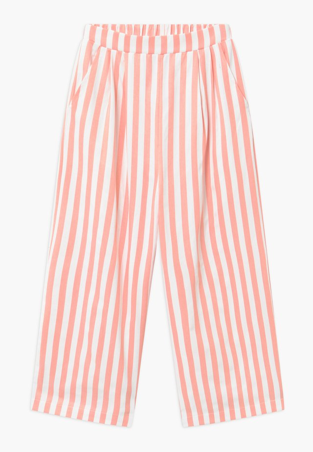 ALO  Croped - Broek - coral/white