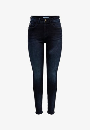 JDYDOVE HIGH WAIST - Jeans Skinny Fit - dark blue denim