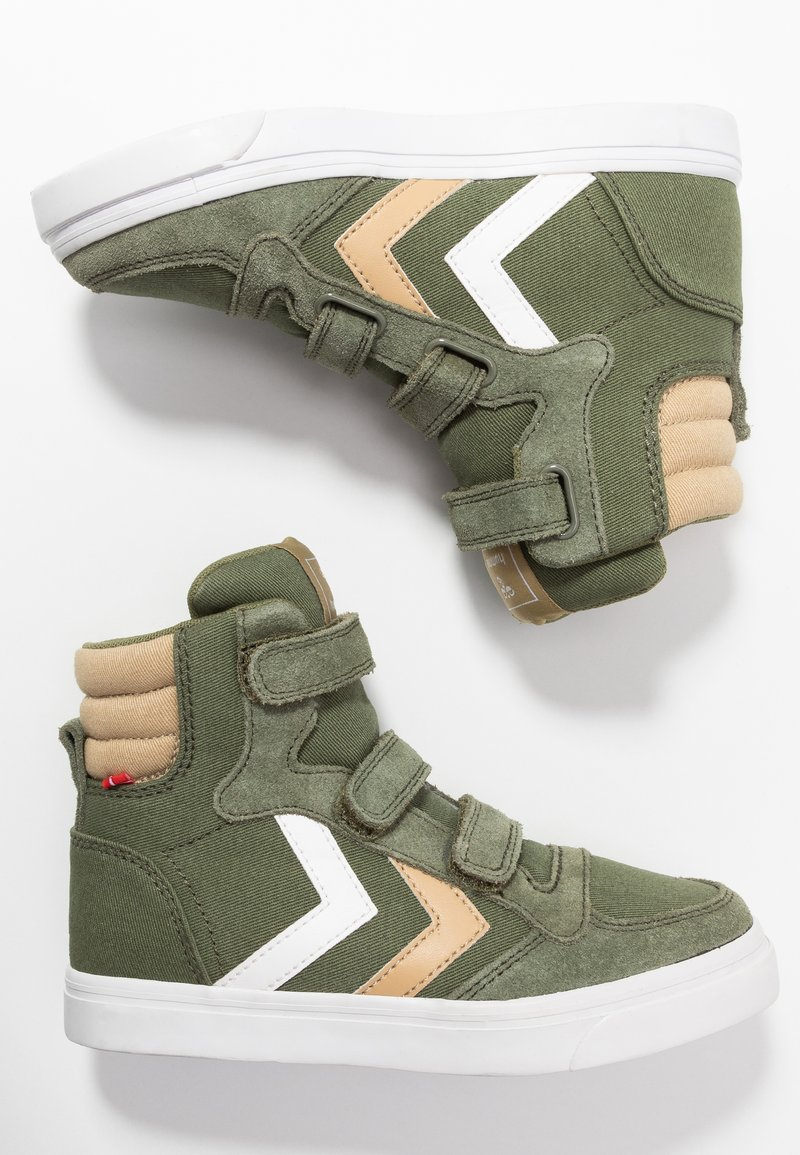 Hummel - STADIL - High-top trainers - deep lichen green