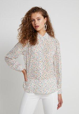 Button-down blouse - multicolor