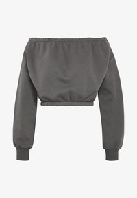 Nly by Nelly - OFF SHOULDER - Sweatshirt - off black - 4