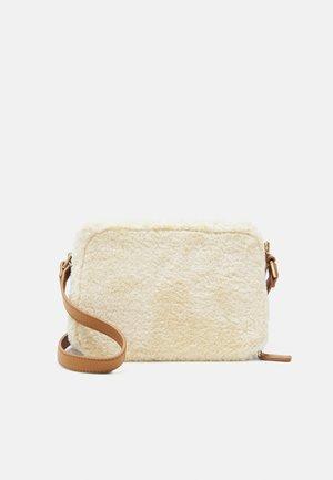 EMMA - Across body bag - cream/tan