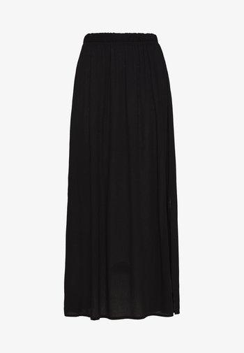 IHMARRAKECH - Veckad kjol - black