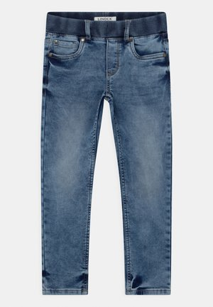 MINI EDVIN PULL ON - Slim fit jeans - light denim