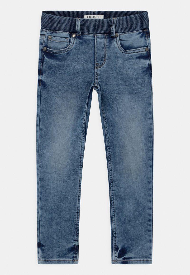 Lindex - MINI EDVIN PULL ON - Slim fit jeans - light denim