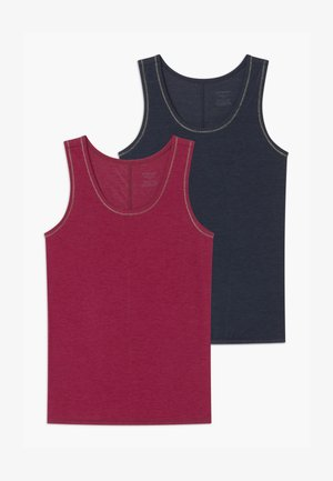 TEENS PERSONAL FIT 2 PACK - Undershirt - dark blue/pink