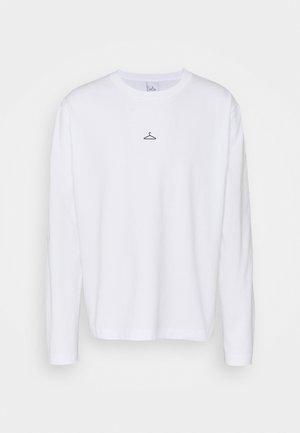 HANGER LONGSLEEVE - Long sleeved top - white