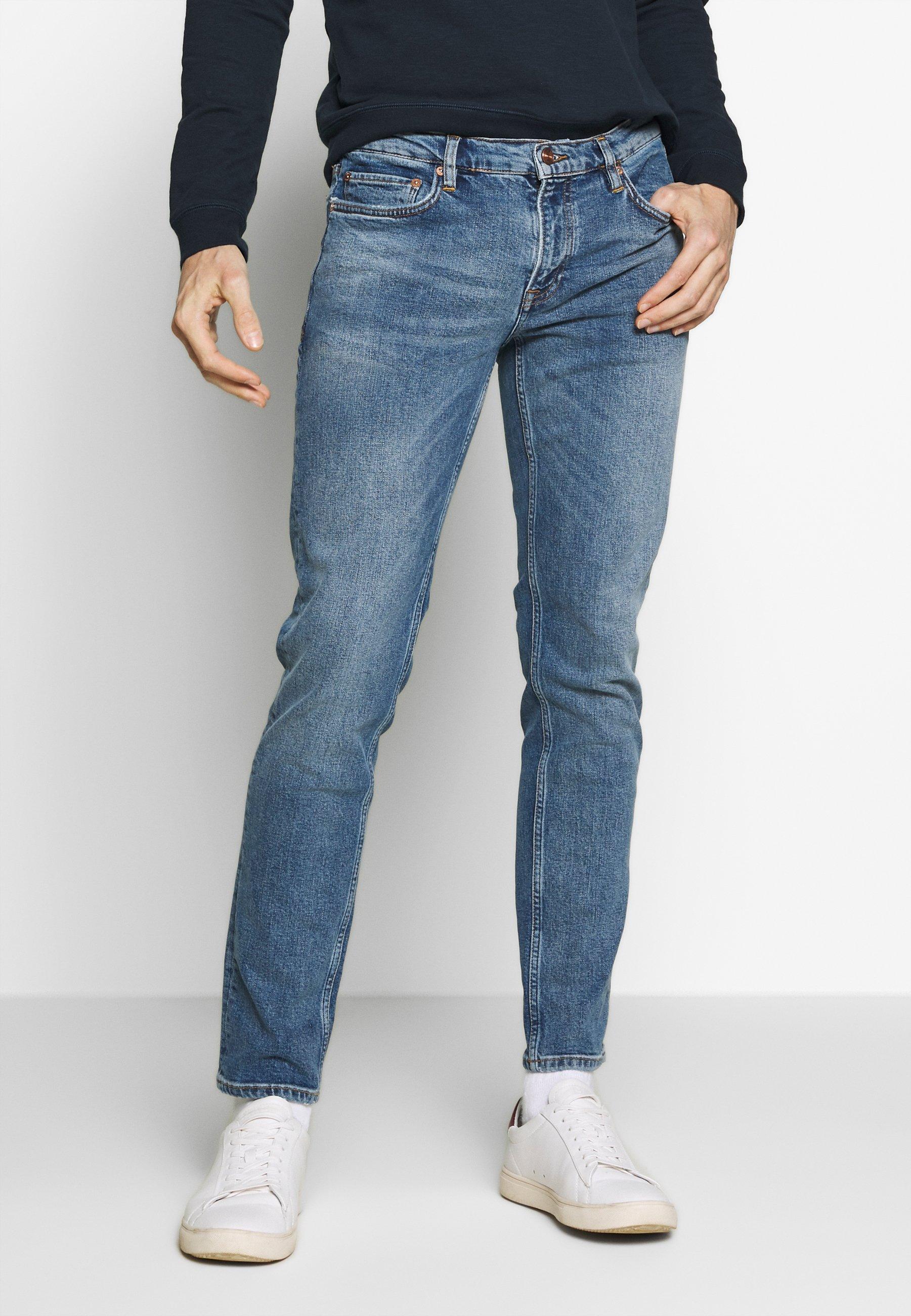 Cool Shopping Miesten vaatteet Sarja dfKJIUp97454sfGHYHD NN07 SLATER  Slim fit -farkut blue denim