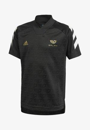 PRIMEGREEN JERSEY - Print T-shirt - black