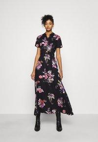 Vero Moda - VMLOVELY ANCLE DRESS - Maxiklänning - black - 0