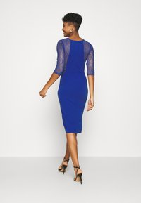 WAL G. - MAISIE SLEEVE MIDI DRESS - Juhlamekko - electric blue - 2