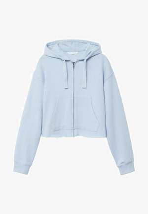 JUDITH - Zip-up hoodie - bleu ciel
