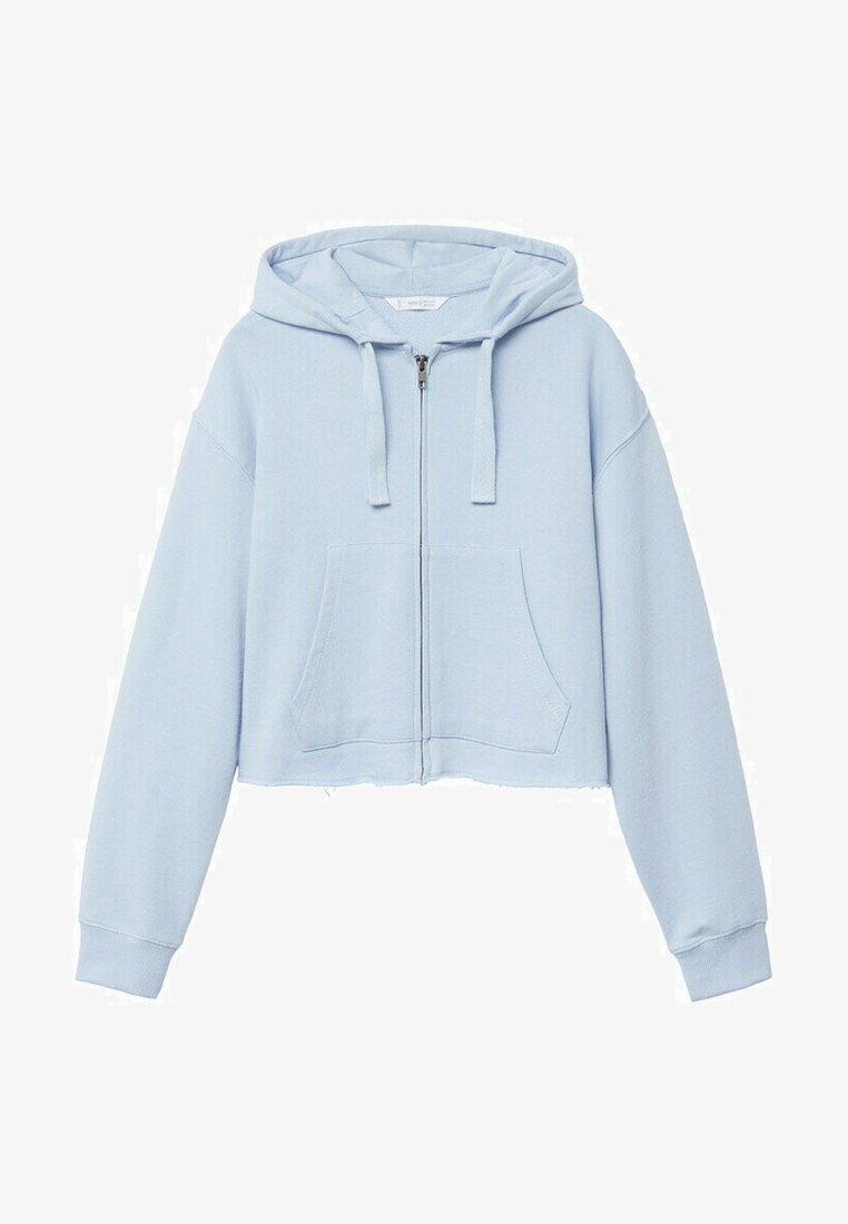 Mango - JUDITH - Sweater met rits - bleu ciel