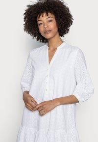 Esprit - DRESS - Shirt dress - white - 3
