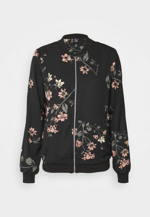 VMLALLIE - Bomber Jacket - black/lallie
