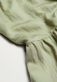 Mango - BAMBU - Maxi skirt - khaki - 5