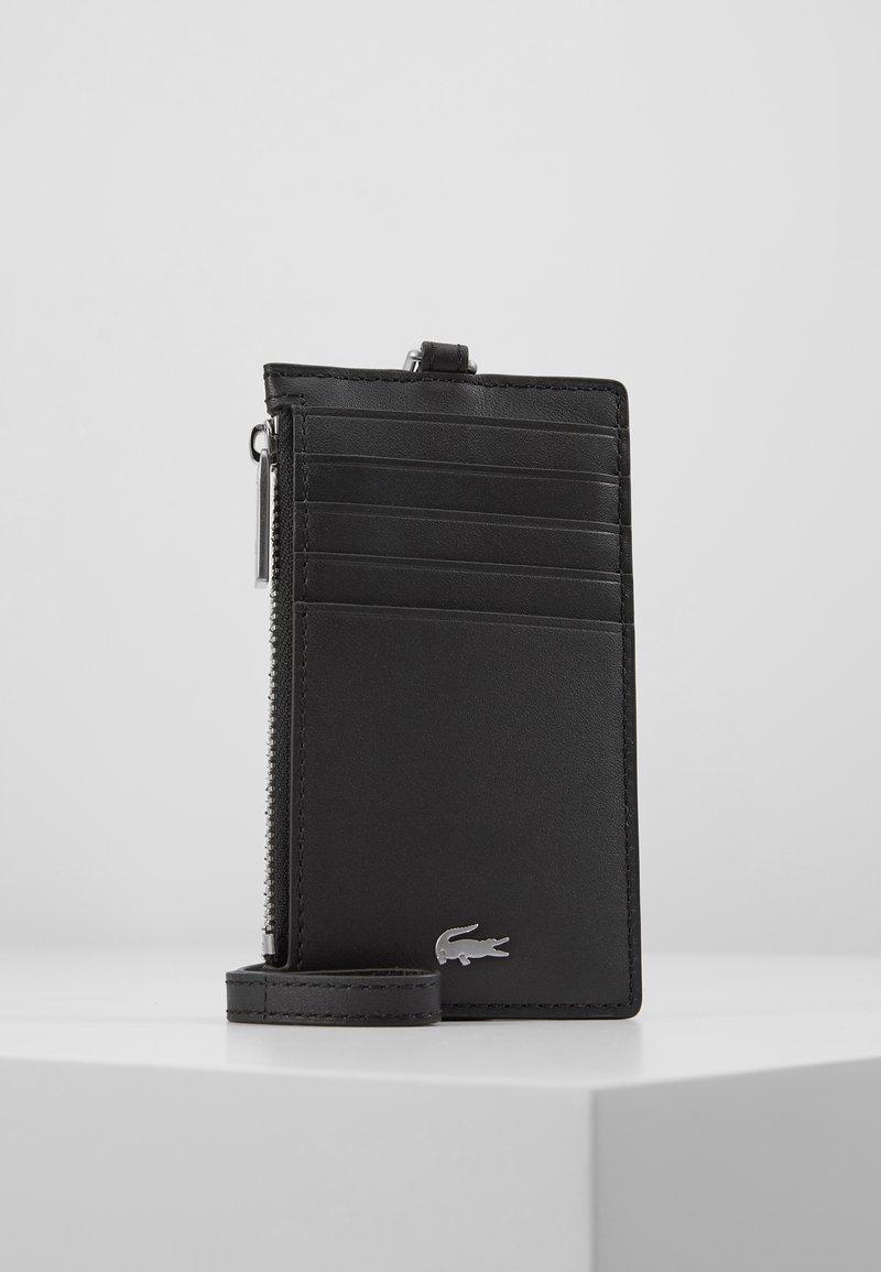 Lacoste - NECKLACE HOLDER - Wallet - black