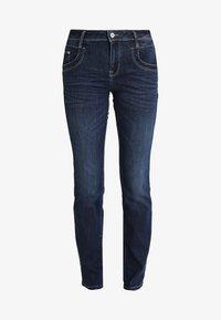 TOM TAILOR - ALEXA - Jeans Straight Leg - dark stone denim blue - 3