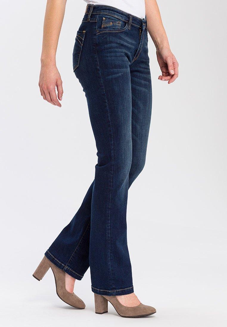 Cross Jeans - LAUREN - Bootcut jeans - deep blue
